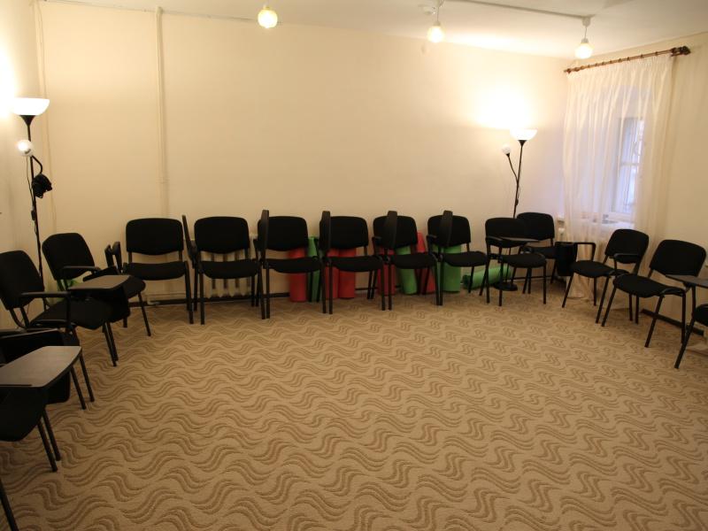Зал для групповых занятий и телесных практик
